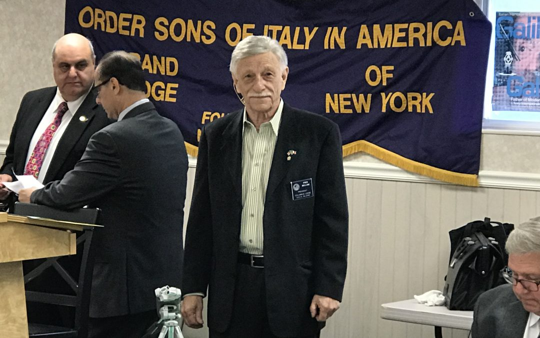 Columbus Lodge Hosts New York OSDIA State Plenary Session