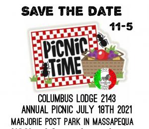 Annual Picnic 2021 @ Marjorie Post Park